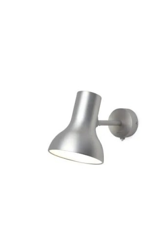 Anglepoise type 75 Mini wandlamp Brushed Aluminium 2