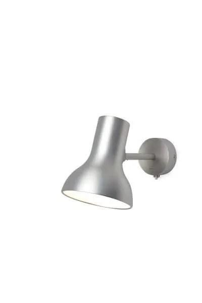 Anglepoise type 75 Mini wandlamp Brushed Aluminium 2