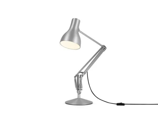 Anglepoise type 75 bureaulamp Brushed Aluminium 3
