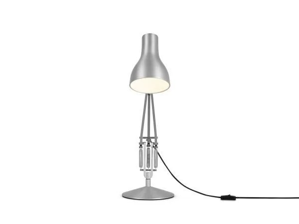 Anglepoise type 75 bureaulamp Brushed Aluminium 4