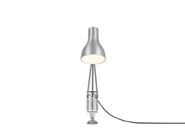 Anglepoise type 75 bureaulamp vaste bevestiging Brushed Aluminium 4