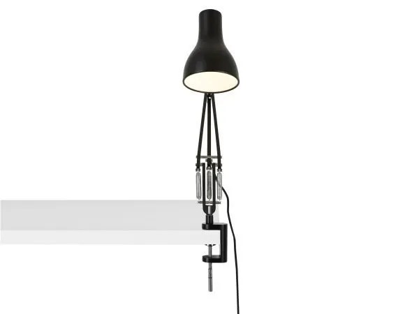 Anglepoise type 75 klemlamp bureaulamp Jet Black 4