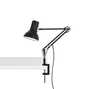 Anglepoise type 75 mini klemlamp Jet Black 1