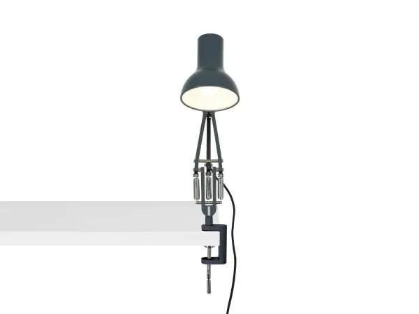 Anglepoise type 75 mini klemlamp Slate Grey 4