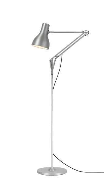 Anglepoise type 75 vloerlamp Brushed Aluminium 1