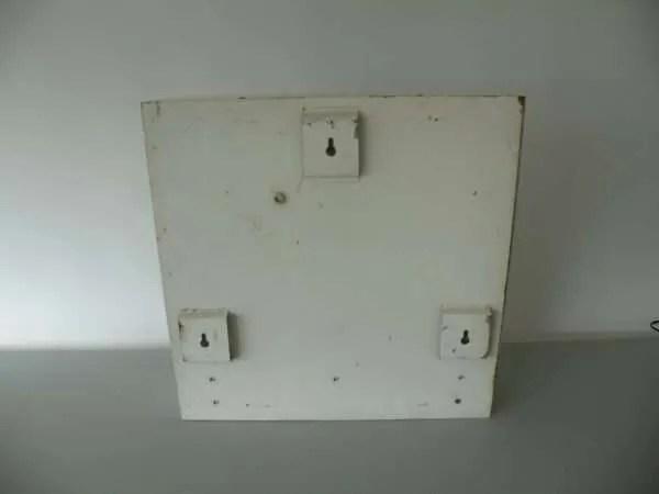Letterlamp C achterkant