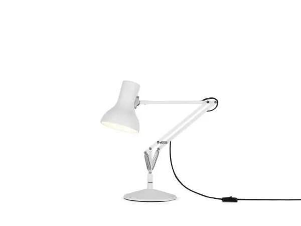 Anglepoise type 75 MIni bureaulamp Alpine White 1