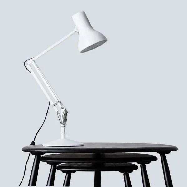 Anglepoise type 75 Mini Bureau Lamp -Alpine White