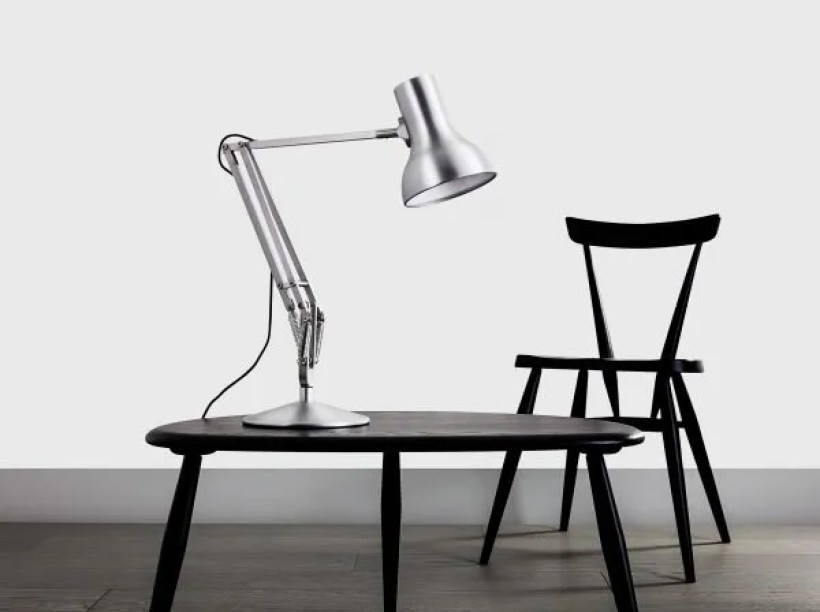 Anglepoise type 75 Mini bureau Lamp - Brushed Aluminium