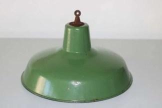 Groen geëmailleerde hanglamp 1