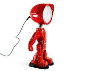 Lampster artsy red