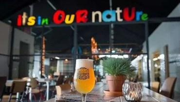 Oplevering letterlampen Bierbrouwerij