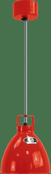 Jielde-Augustin-A160-Hanglamp-Rood-RAL-3020