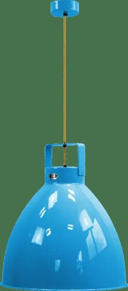 Jielde-Augustin-540-Hanglamp-Licht-Blauw-RAL-5012