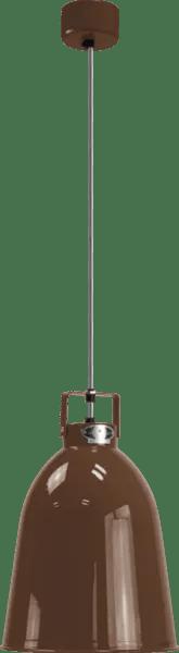Jielde-Clement-C240-Hanglamp-Chocolade-RAL-8017