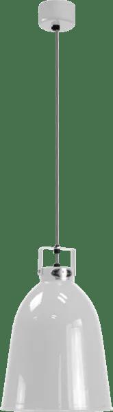 Jielde-Clement-C240-Hanglamp-Zilver-Grijs-RAL-9006
