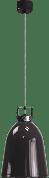 Jielde-Clement-C240-Hanglamp-Zwart-RAL-9011