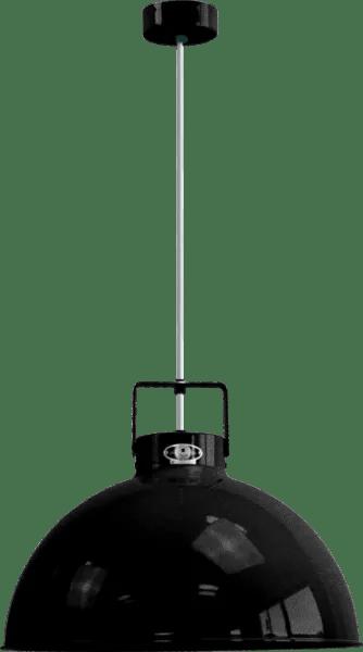 Jielde-Dante-D450-Hanglamp-Zwart-Hamerslag