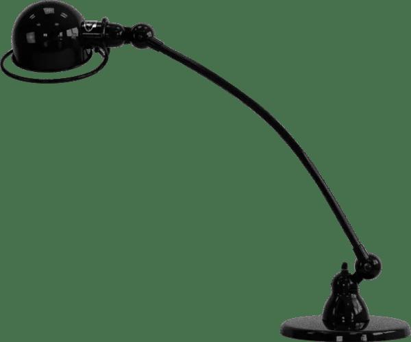 Jielde-Loft-C6000-bureaulamp-Zwart-Hamerslag