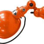 Jielde-Loft-D1000-muurlamp-Oranje-RAL-2004