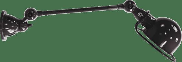 Jielde-Loft-D4001-muurlamp-plafondlamp-Zwart-RAL-9011