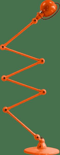 Jielde-Loft-D9406-vloerlamp-Oranje-RAL-2004