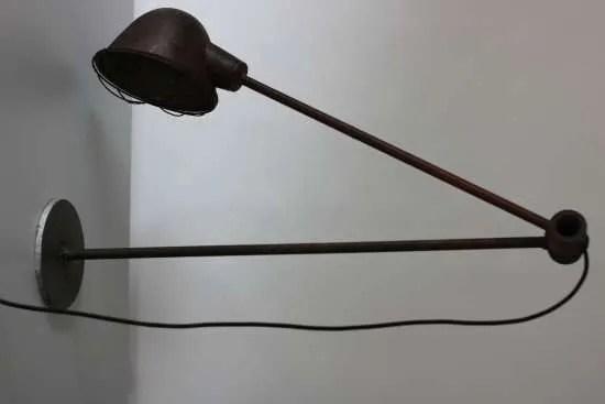 industriele 2-armige machinelamp originele
