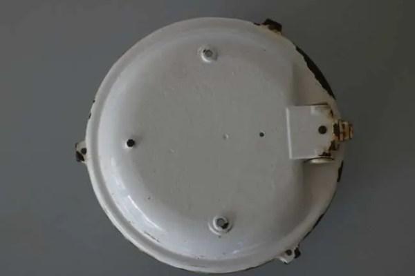 BINK bunkerlamp wandlamp achterkant