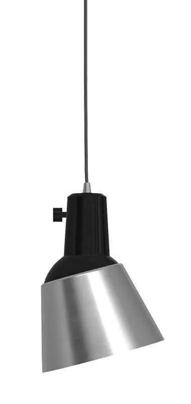 K831 bauhaus verstelbare hanglamp massief aluminium
