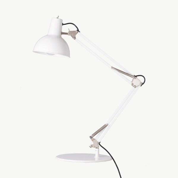 Midgard bureaulamp BINK wit