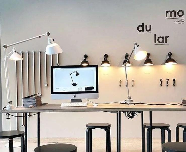 Midgard wandlamp modulair 4