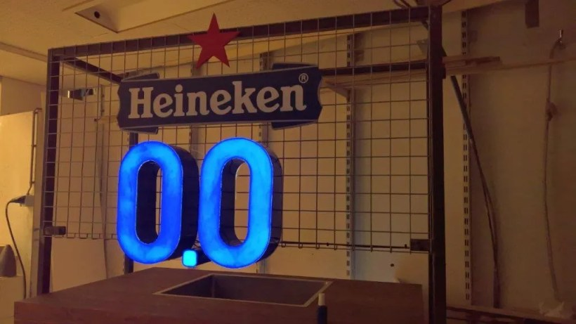 Letterlampen Heineken