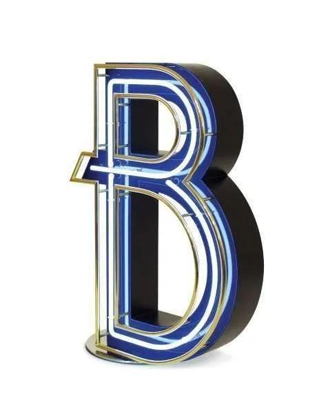 Delightfull letterlamp B