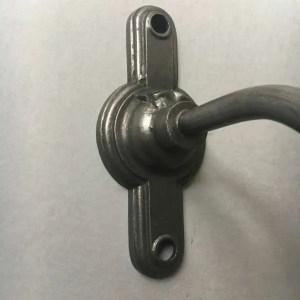koperen muurlamp BINK detail voet 1