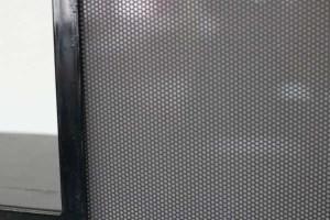Letterlamp zwart detail
