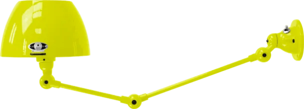 jielde-Aicler-AID731-wandlamp-geel-RAL1016-rond