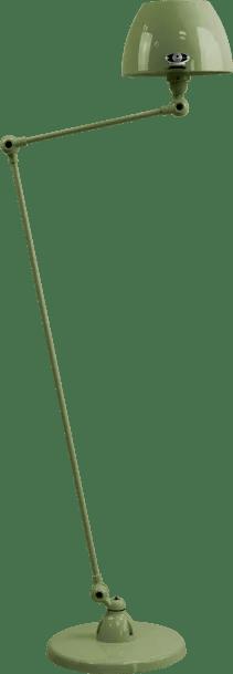 jielde-Aicler-AID833-vloerlamp-olijf-groen-RAL6003-rond