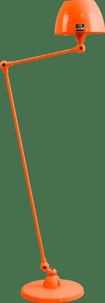 jielde-Aicler-AID833-vloerlamp-oranje-RAL2004-rond