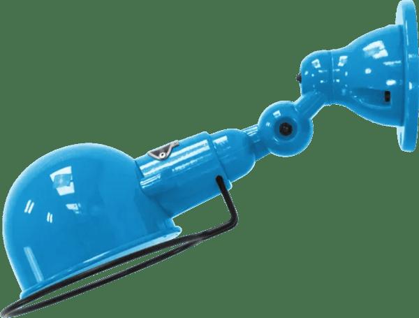 jielde-signal-SI300-wandlamp-lichtblauw-RAL5012