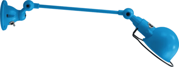 jielde-signal-SI301-wandlamp-lichtblauw-RAL5012