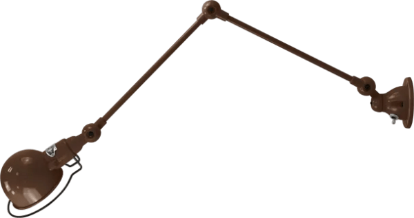 jielde-signal-SI331-wandlamp-chocolade-RAL8017