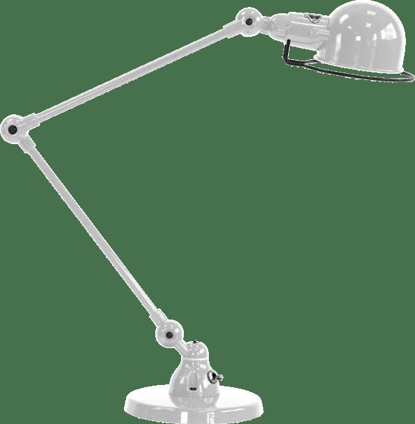 jielde-signal-SI333-bureaulamp-zilver-grijs-RAL9006