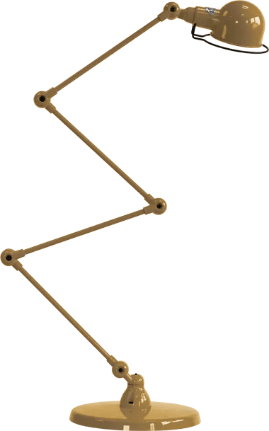 jielde-signal-SI433-vloerlamp-goud-RAL1036