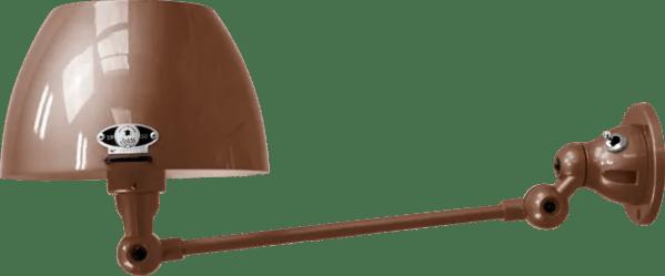 jielde-Aicler-AID301-wandlamp-chocolade-RAL8017-rond