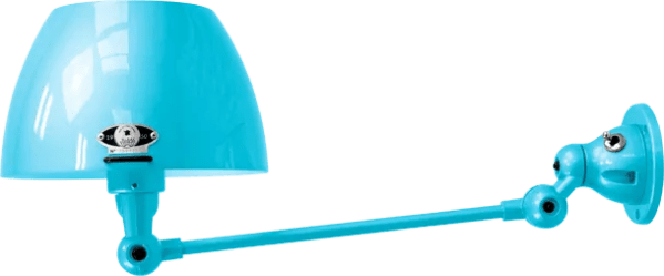 jielde-Aicler-AID301-wandlamp-pastel-blauw-RAL5024-rond