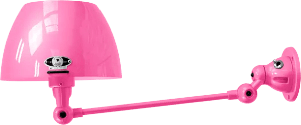 jielde-Aicler-AID301-wandlamp-roze-RAL4003-rond