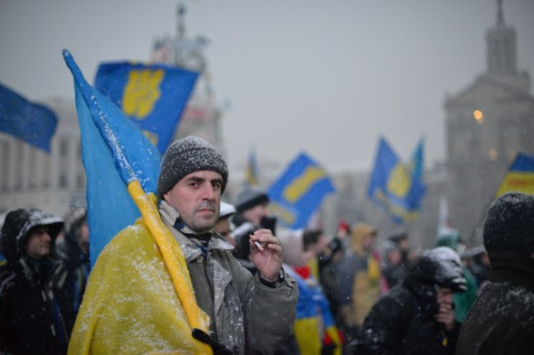 Ukrainian President and Protestors Come to an Agreement