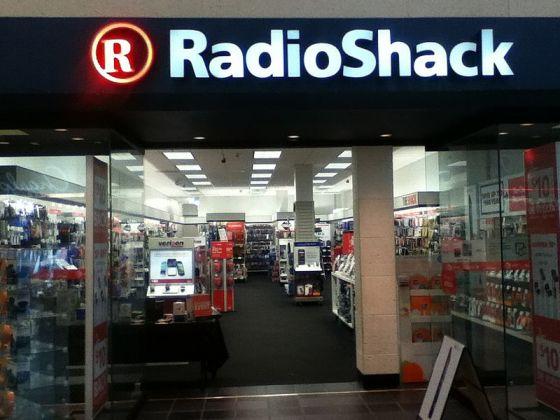 Radio Shack rebrand
