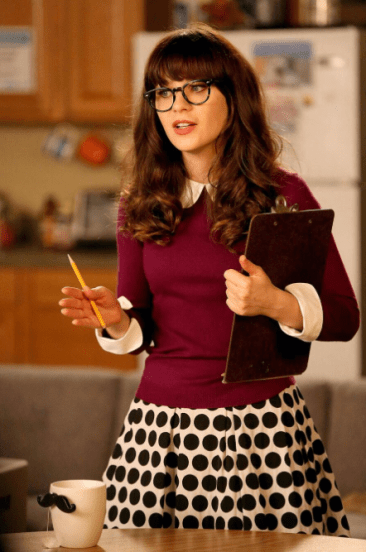 sitcom stereotypes like Jess from New Girl
