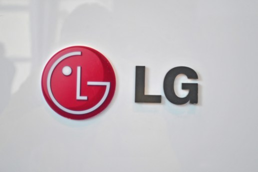 The LG logo.